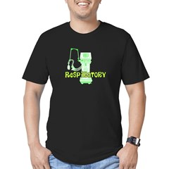 Respiratory Therapy Men's Fitted T-Shirt (dark)
