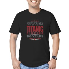 Titanic Sinking Anniversary Men's Fitted T-Shirt (dark)