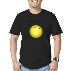 Transit of Venus Men's Fitted T-Shirt (dark)