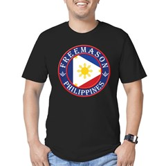 Filipino Masons Men's Fitted T-Shirt (dark)