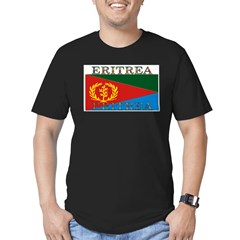 Eritrea Men's Fitted T-Shirt (dark)