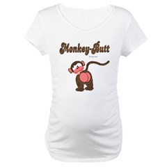 Monkey-But Maternity T-Shirt
