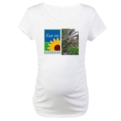 Eye on Gardening Tropical Plants Maternity T-Shirt
