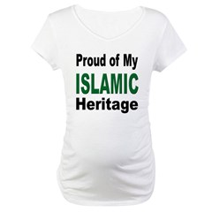 Proud Islamic Heritage Maternity T-Shirt