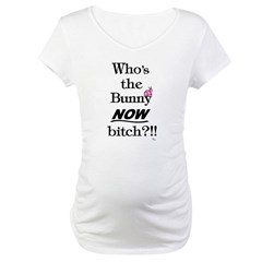 Who's the Bunny Maternity T-Shirt