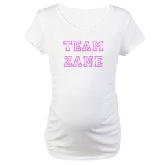 Pink team Zane Maternity T-Shirt
