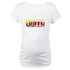Real Estate Queen Maternity T-Shirt