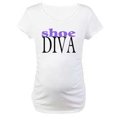 Shoe Diva Maternity T-Shirt