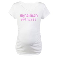 Ukrainian Princess Maternity T-Shirt