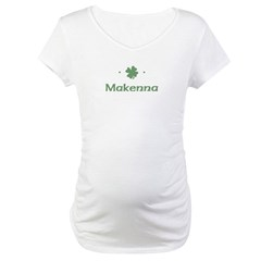 """Shamrock - Makenna"" Maternity T-Shirt"