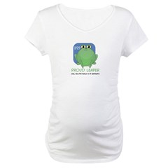 Proud Leaper Maternity T-Shirt