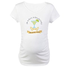 Margarita Lover Maternity T-Shirt