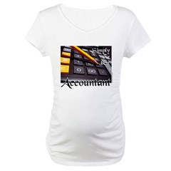ACCOUNTAN Maternity T-Shirt