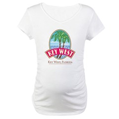Retro Key West - Maternity T-Shirt