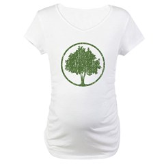 Vintage Tree Maternity T-Shirt