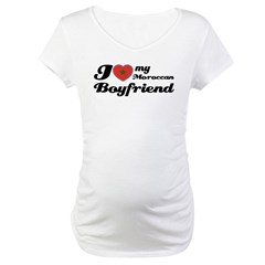 Moroccan Boy friend Maternity T-Shirt