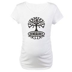 Genealogy Maternity T-Shirt