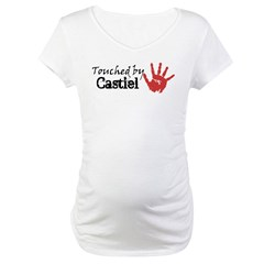 Touched by Castiel Maternity T-Shirt