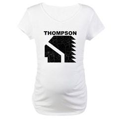 Thompson High Warriors Maternity T-Shirt
