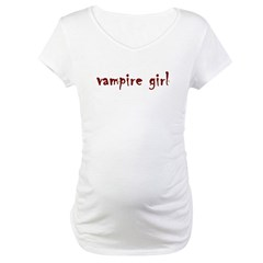 Vampire girl Maternity T-Shirt