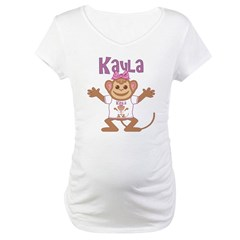 Little Monkey Kayla Maternity T-Shirt