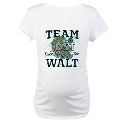 Team Walt Maternity T-Shirt