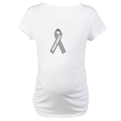 Brain Cancer Hope Maternity T-Shirt