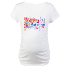 Runner Jargon Women's Sports T-Shirt Maternity T-Shirt