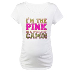 pink Maternity T-Shirt