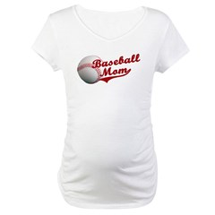 Baseball_Mom Maternity T-Shirt