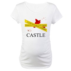 A Line Has Been Crossed Maternity T-Shirt