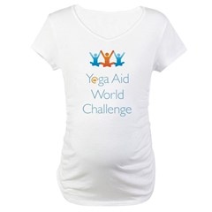 Yoga Aid World Challenge MILFORD Maternity T-Shirt