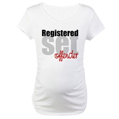 Registered Set Offender Maternity T-Shirt