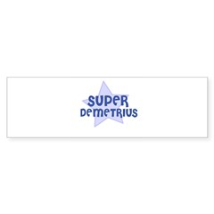 Super Demetrius Rectangle Sticker (Bumper 10 pk)