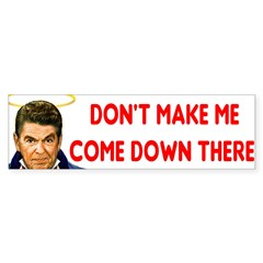 Dont make me! Sticker (Bumper 10 pk)