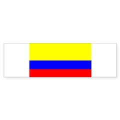 Colombia Flag Rectangle Sticker (Bumper 10 pk)