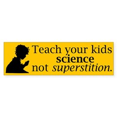 Teach your kids science Sticker (Bumper 10 pk)