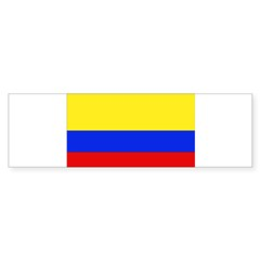 Colombian Flag Rectangle Sticker (Bumper 10 pk)