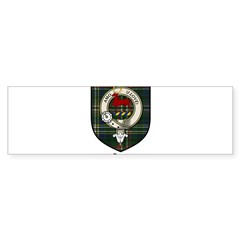 Scott Clan Crest Tartan Rectangle Sticker (Bumper 10 pk)