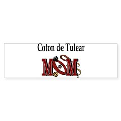Coton de Tulear Mom Rectangle Sticker (Bumper 10 pk)