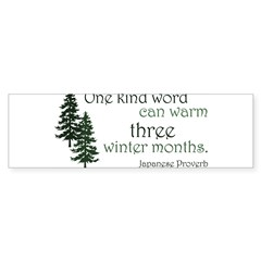 Kind Word Sticker (Bumper 10 pk)