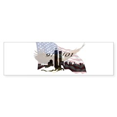 9/11/01 Rectangle Sticker (Bumper 10 pk)