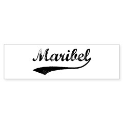 Vintage: Maribel Sticker (Bumper 10 pk)