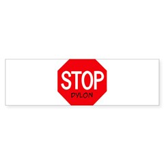 Stop Dylon Sticker (Bumper 10 pk)