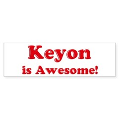 Keyon is Awesome Sticker (Bumper 10 pk)