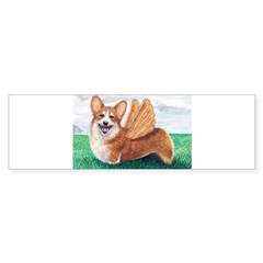 Corgi Rectangle Sticker (Bumper 10 pk)