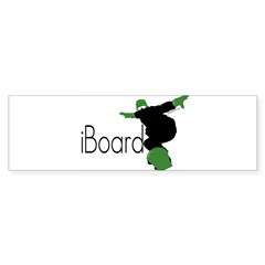 iBoard Rectangle Sticker (Bumper 10 pk)