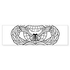 Force Protection Badge Rectangle Sticker (Bumper 10 pk)