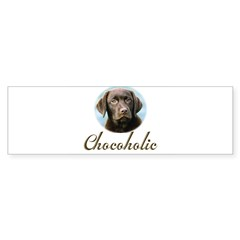 Chocoholic Rectangle Sticker (Bumper 10 pk)