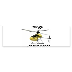 Helicopter Rectangle Sticker (Bumper 10 pk)